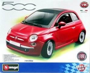 Fiat 500 (2007) - KIT auta 1:24 Bburago