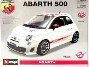 500 Abarth (2008 - KIT auta 1:24 Bburago