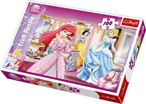100 dílků - Princezny - puzzle Trefl 16186