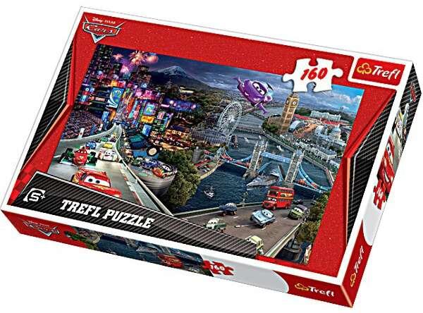 160 dílků - CARS 2 - puzzle Trefl 15216