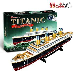3 D Puzzle CubicFun - Titanic malý
