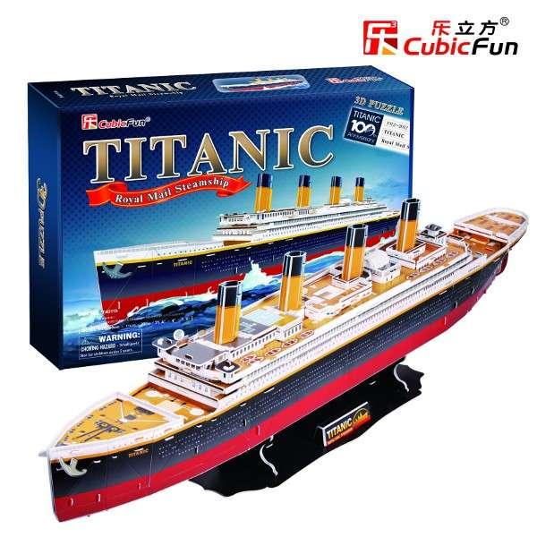 3 D Puzzle CubicFun - Titanic velký Cubic Fun
