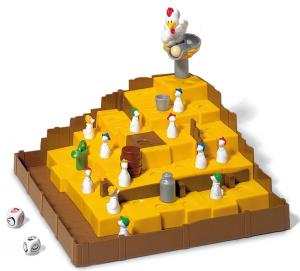 Ravensburger - Kohout Kiki Ricky - bláznivá hra s létajícími vajíčky