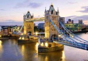 Puzzle Clementoni 1000 dílků - Londýn - Tower Bridge
