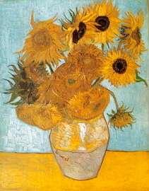Puzzle Clementoni 1000 dílků - Van Gogh - Slunečnice , Clementoni 31438