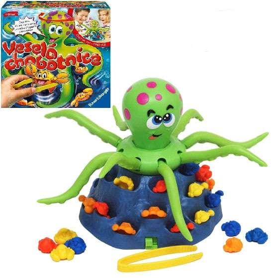 Ravensburger - Jolly Ostopus - Hra Veselá chobotnice