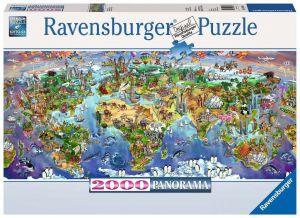2000 dílků - panorama - Divy světa   puzzle Ravensburger 166985