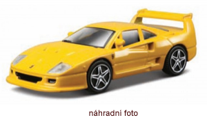 Autíčko Maisto Ferrari  Evolution 2,75´´  Ferrari F40 Competezione  - žluté