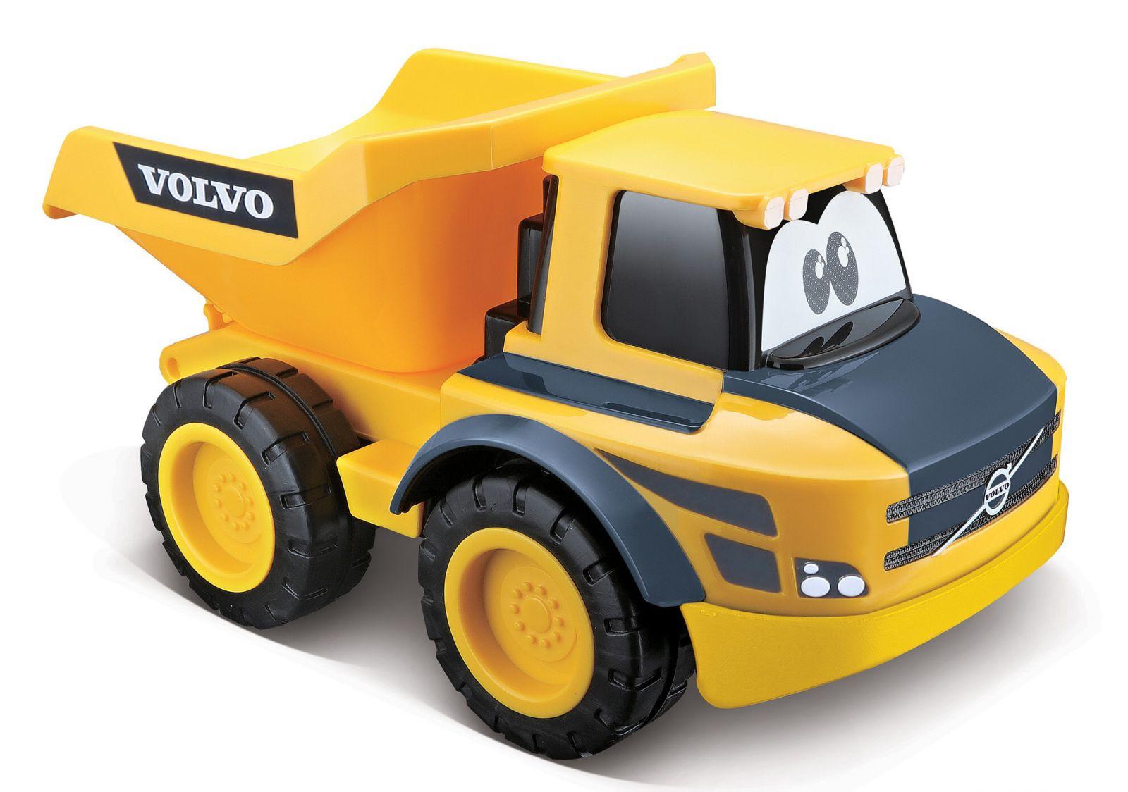 Bburago - RC auto sklápěčka Volvo na dálkové ovládání - žluté