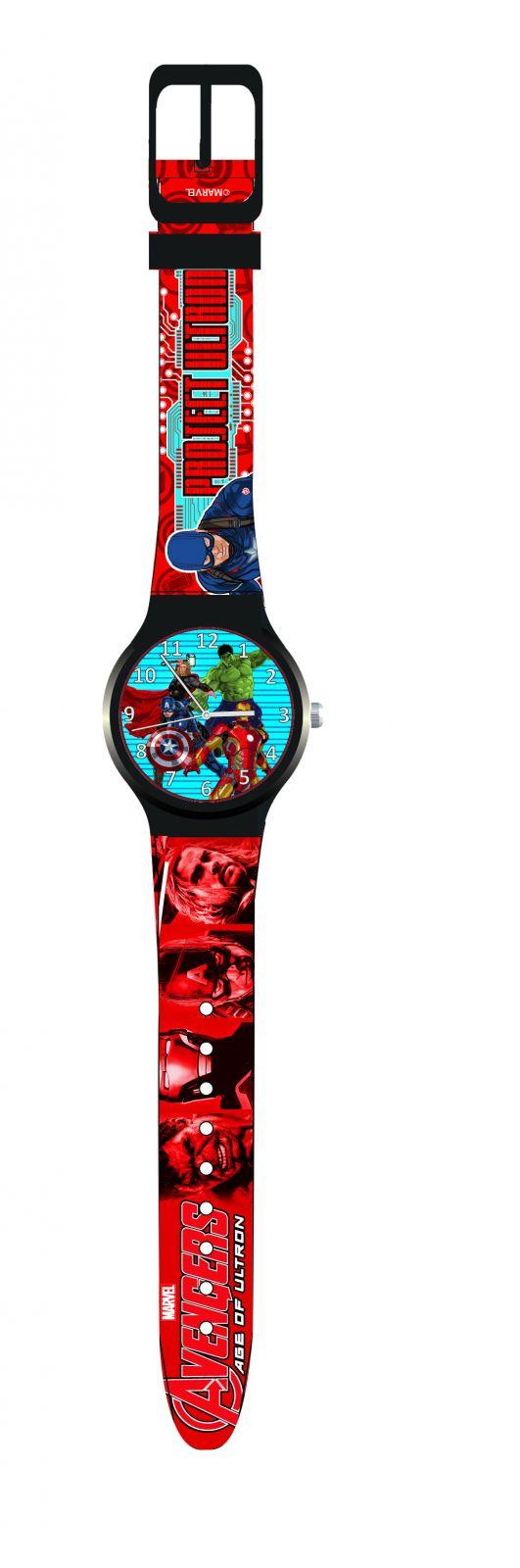 Dětské hodinky - analogové ( blistr ) - Avengers Diakakis