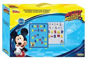 Diakakis - magnetická tabule s číslicemi 35 x 23 cm  - Mickey Mouse