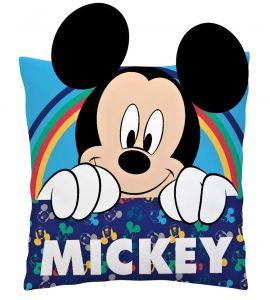 Diakakis - plyšový polštářek -  Mickey 3D  35 x 35 cm