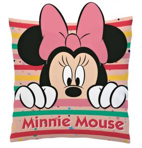 Diakakis - plyšový polštářek -  Minnie  3D  35 x 35 cm