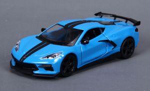Maisto 21001 PR  Chevroler Corvette Stingray coupe - modrá barva