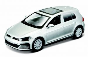 Maisto 21001 PR  Volkswagen Golf GTi 2017 - stříbrná metalíza