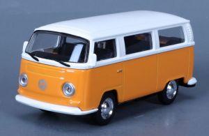 Maisto 21001 PR  Volkswagen T2 Type 2 bus - oranžová  barva