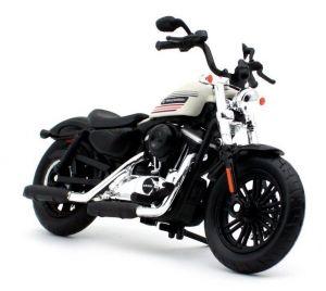 Maisto Harley Davidson 2018 Forty - Eiht special 1:18 white