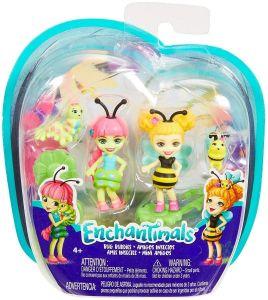 Mattel Enchantimals - dvě figurky Housenka a Včelka