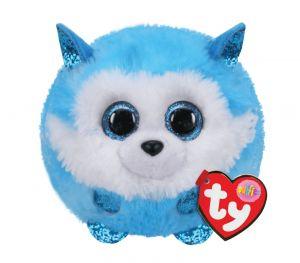 Plyšák TY - Puffies - plyšová zvířátka ve tvaru kuličky  - husky Prince   10 cm  42513