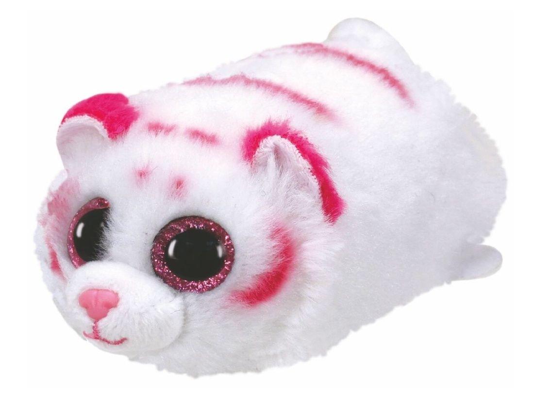 Plyšák TY - Teeny Ty´s - malá plyšová zvířátka - růžový tygřík Tabor 10 cm 42150 TY Inc. ( Meteor )