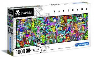 Puzzle Clementoni 1000 dílků  panorama -  Tokidoki  39568