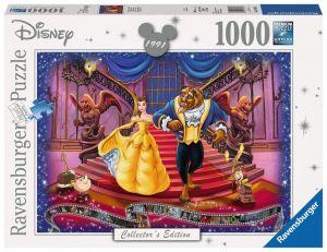 puzzle Ravensburger 1000 dílků - Kráska a zvíře  197460
