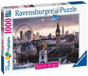 puzzle Ravensburger 1000 dílků - Londýn  140855