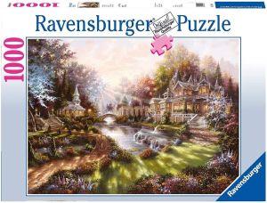 Puzzle Ravensburger 1000 dílků - Slunečné ráno 159444