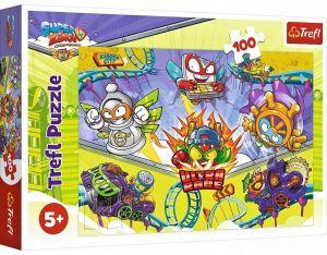 Puzzle Trefl 100 dílků - Super Zings  16507