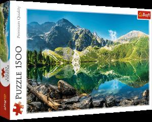Puzzle Trefl 1500 dílků - Jezero Mořské oko - Tatry   26167