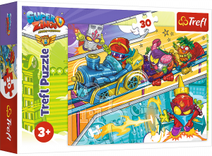 Trefl puzzle  30 dílků  - Super Zings  18272
