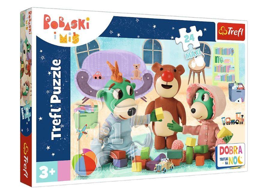 Trefl Puzzle Maxi 24 dílků - Treflíci - Dobrou noc 14325