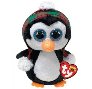 TY Beanie Boos - Cheer - tučňák v čepici   36241 - 15 cm plyš