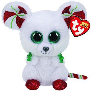 TY Beanie Boos - Chimney - vánoční myšák 36239  - 15 cm plyšák