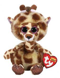 TY Beanie Boos - Gertie - žirafa s dlouhým krkem  36382 - 15 cm plyšák