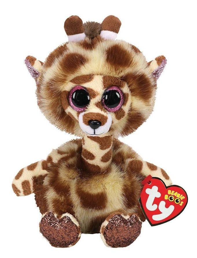 TY Beanie Boos - Gertie - žirafa s dlouhým krkem 37402 - 24 cm plyšák TY Inc. ( Meteor )