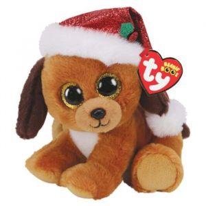 TY Beanie Boos - Howlidays - vánoční pejsek v čepici   36240 - 15 cm