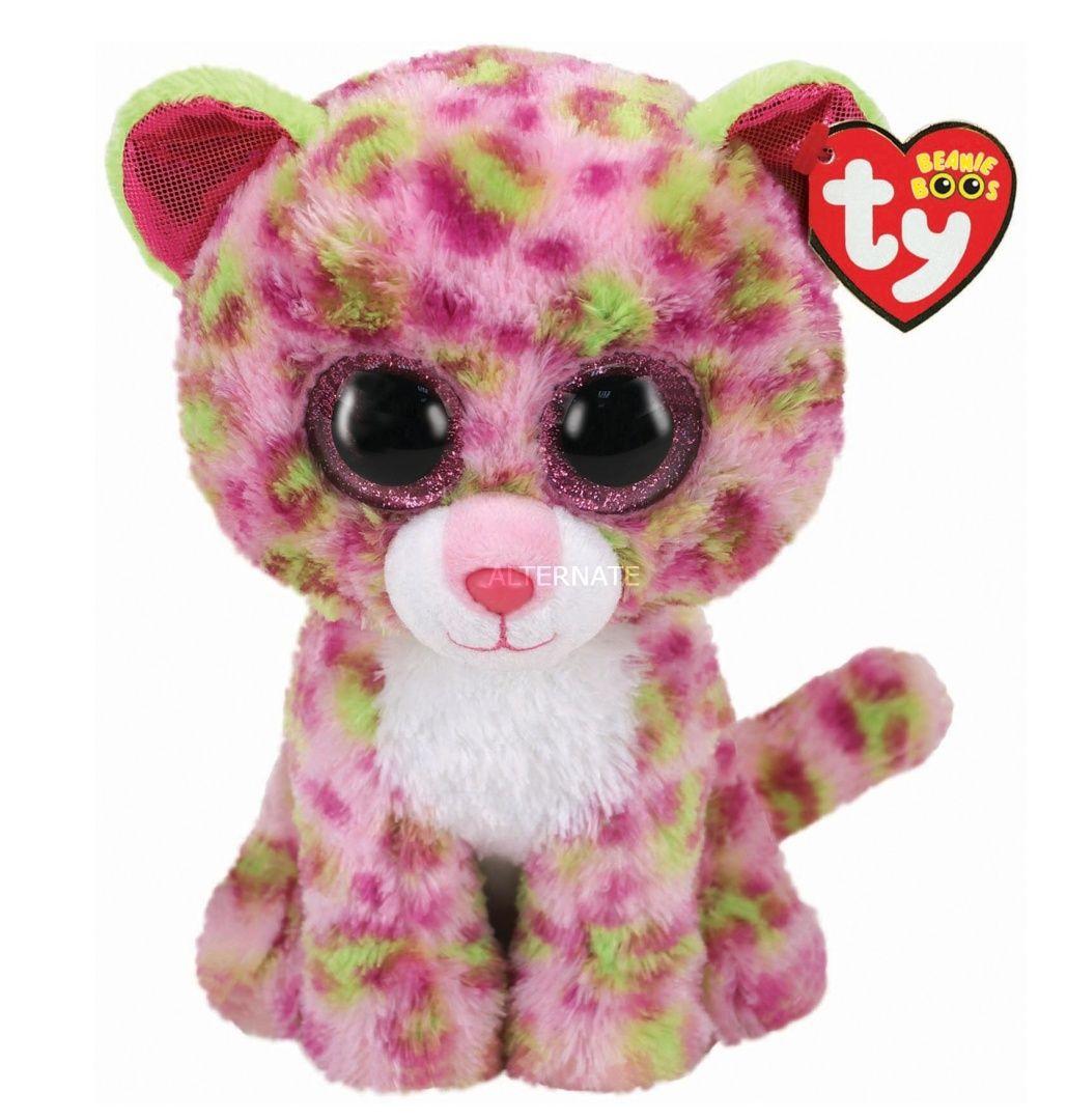 TY Beanie Boos - Lainey - růžový leopard 36476 - 24 cm plyšák TY Inc. ( Meteor )
