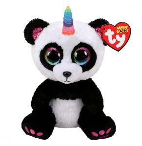 TY Beanie Boos - Paris - panda s rohem  36307- 15 cm plyšák