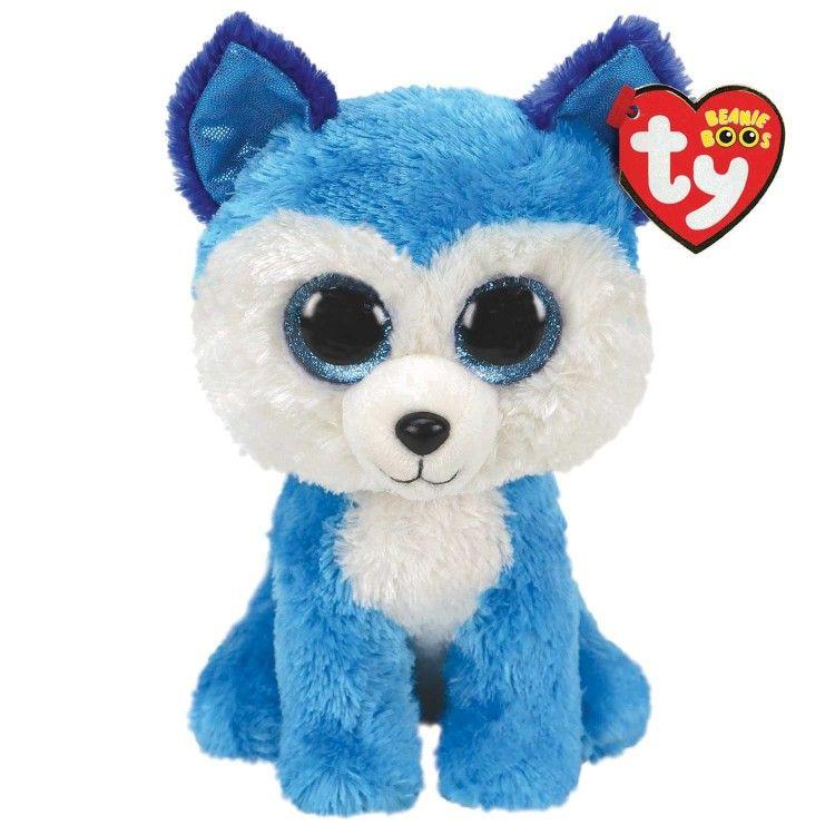TY Beanie Boos - Prince - modrý husky 36310 - 15 cm plyšák TY Inc. ( Meteor )