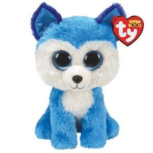 TY Beanie Boos -  Prince  - modrý husky  36474  - 24 cm plyšák