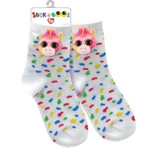 TY Fashion -  ponožky : jednorožec Fantasia -  95807
