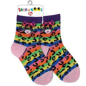 TY Fashion -  ponožky : leopard Dotty  -  95805