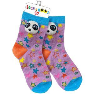 TY Fashion -  ponožky : panda Bamboo  -  95806