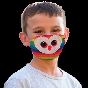 TY mask - maska na obličej / rouška : duhová sova Owen   95705