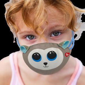 TY mask - maska na obličej / rouška : pejsek husky Slush   95701
