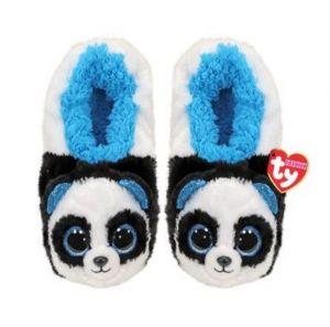 TY plyšové papuče  - panda Bamboo - vel. M  -   95336