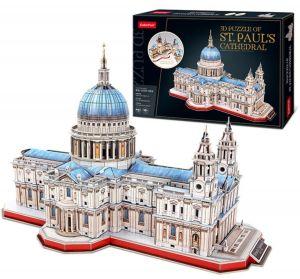 3D puzzle CubicFun Katedrála Sv.Pavla v Londýně 643 dílků