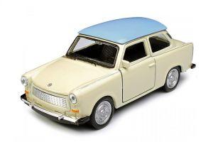 auto Welly 1:34 - Trabant 601 dvoubarevný - béžový s modrou střechou