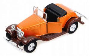 auto Welly - 1932 Ford Roadster cabrio - oranžová barva